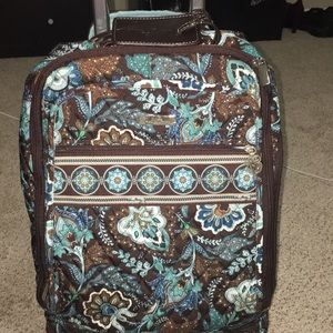 Vera Bradley Wheeled Carry On🎉Retired